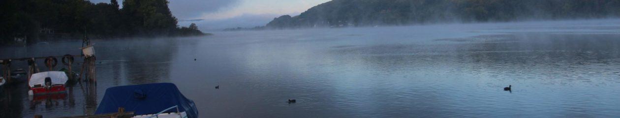 Tour du lac de paladru